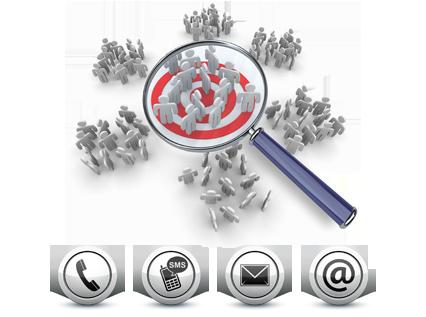 Listes d'Entreprises ou Particuliers QualifiéesCiblage Géographique, par Profil, Secteur d'activité...