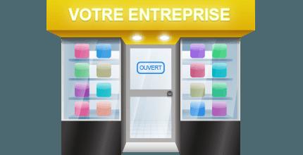 Lumineuse, Drapeau, bandeau, Caisson…Votre Enseigne Commerciale au Meilleur Prix!
