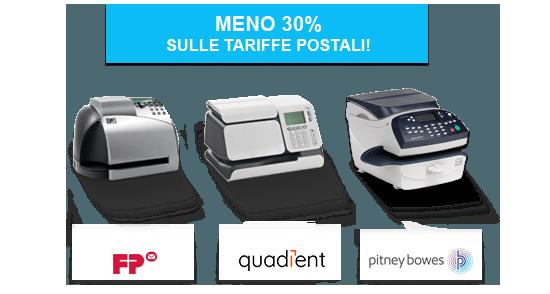 Affranca la tua posta in ufficioRisparmia da 0,30€ a 1,43€ sul prezzo dell'invio!