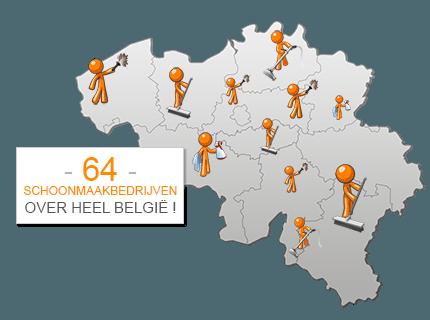 Speciaal voor Bedrijven, Winkels & Kantoren:Vergelijk NU de Schoonmaakbedrijven bij u in de Buurt!